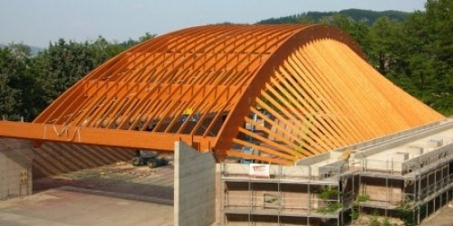 LIZZANO'S GYM WOOD STRUCTURE - BO - ITALY